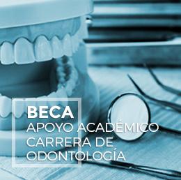 Beca Apoyo Académico Carrera de Odontología