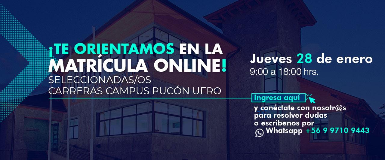 Matrículas Campus Pucón